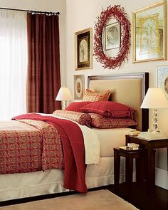 1000 Images About DECOR ColorCranberry Red amp Neutral On Pinterest Living Rooms Toile