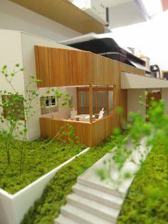 けいかく中 bowsteps – バウステップス – - 名古屋市の住宅設計事務所 フィールド平野一級建築士事務所 House Layout Plans, House Layouts, Minecraft House Designs, Minecraft Houses, Social Housing Architecture, Urban Rooms, Arch Model, Rement, Design Competitions