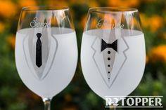 Gay boda copas de vino, copas de vino Gay, regalo de boda Gay, Señor y Señor copas de vino, boda Gay, mismo sexo vino vasos