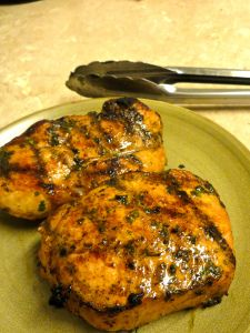 Havana Grilled Pork Chops Could do chicken or beef with this marinade
