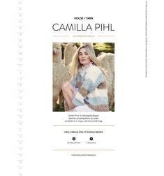 Strikkeoppskrift: Camilla Pihls Mari-genser   ELLE Norge Camilla, Shopping, Threading