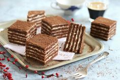 A Food, Food And Drink, Individual Cakes, Classic Cake, Hungarian Recipes, No Bake Cake, Baking Recipes, Oreo, Sweet Tooth