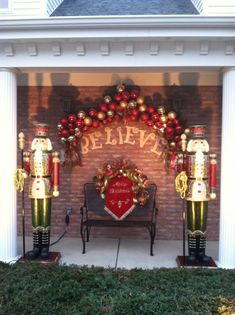 412 Best Christmas Outdoor Decor Images On Pinterest In 2018