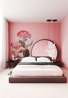 Room Design Bedroom, Bedroom Furniture Design, Room Ideas Bedroom, Home Room Design, Home Decor Bedroom, Home Interior Design, Wall Art For Bedroom, Indian Room Decor, Indian Bedroom