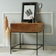 Industrial Storage Side Table | west elm