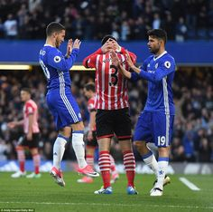 The Belgian was quick to credit Diego Costa for the striker's patience and pass played in setting up the opener