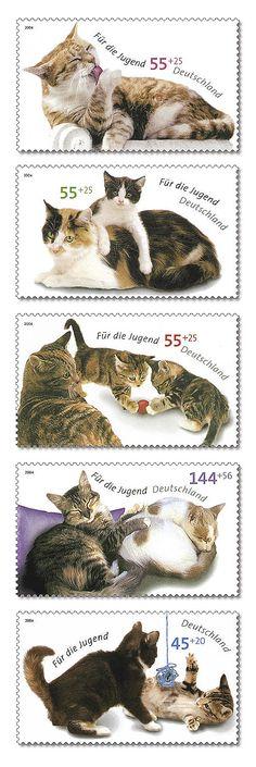 German postage stamps - 2004