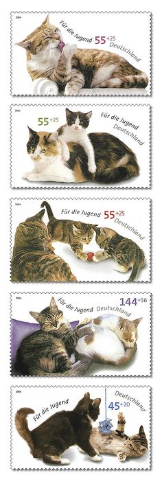 German postage stamps - 2004