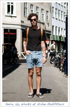 Mens summer casual short outfits worth to copy 75