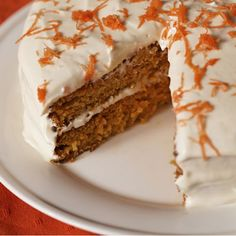 This Carrot Cake Recipe with Pineapple puts a delicious spin on a homemade classic.data-pin-do=