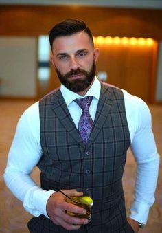 Dapper Gentleman, Dapper Men, Mens Fashion Suits, Mens Suits, Men's Fashion, Sharp Dressed Man, Well Dressed Men, Moustache, Costume Sexy
