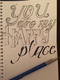 You are my happy place :-)