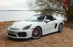 It's stiff, stripped-down and pricey, but this purist's Porsche still offers a helluva good time Boxster Spyder, Porsche Boxster, German, Wheels, Cars, Vehicles, Autos, Deutsch, German Language