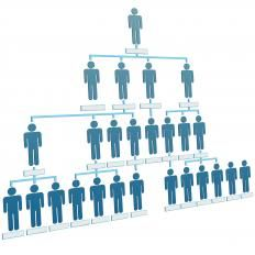 Organizational Chart A Diagram That Shows The Structure Of An