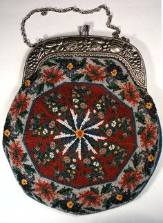 Antique Beaded Handbags