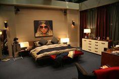 chucks bedroom..