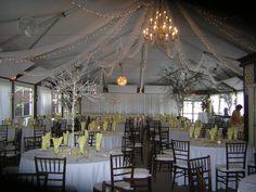 Tented wedding @ Black Hills Receptions