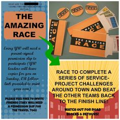AMAZING (SERVICE) RACE MUTUAL ACTIVITY