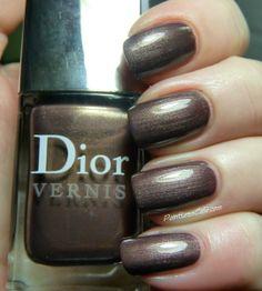 Dior - New World Purple (originally Aztec Chocolate) Dior Nail Polish, Manicures, Nails, Beautiful Nail Art, Aztec, Swatch, Chocolate, Purple, Collection