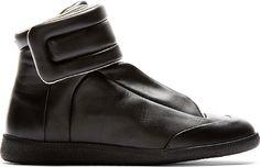Maison Martin Margiela - Black Future High-Top Sneakers