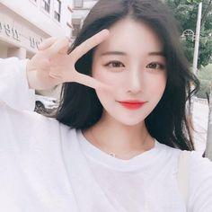 Wow looks great Korean Makeup Look, Asian Makeup, Korean Beauty, Asian Beauty, Pretty Korean Girls, Cute Korean Girl, Beautiful Asian Girls, Bts Girl, Uzzlang Girl