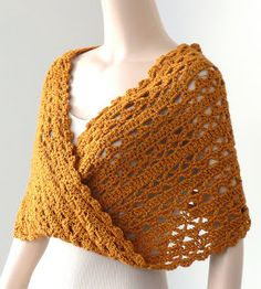 The New Crochet Cowl Scarves: Fancy Cowls
