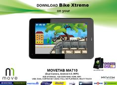 Download Bike Xtreme on your MOVE TABLET! Get this TABLET for only P7,995.00. We also offer online orders. Just message us here on our facebook page.