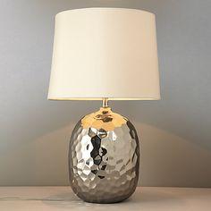 Buy John Lewis Isla Dimpled Table Lamp online at JohnLewis.com - John Lewis