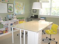 Workspace of the Week: A room where kids can get things done | Unclutterer