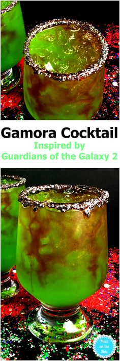 A Gamora Cocktail Recipe is just what Thirsty Thursday needs as we wait for Guardians of the Galaxy 2 to hit theaters! via @momontheside
