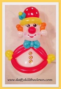 Balloon Roly-Poly Clown