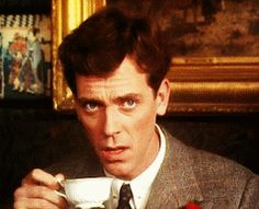 oh right / confused / never mind I'll just drink tea – Hugh Laurie