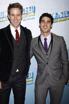 Glees Darren Criss makes his Broadway debut