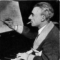 Maurice Ravel, French Composer, Pictured here at the piano, He was famous for 'Ravel's Bolero' Stock Pictures, Stock Photos, Classical Music Composers, Famous Faces, The Magicians, Royalty Free Photos, Literature, My Love, Tango
