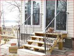 17 Best railing images | Wrought iron stairs, Iron stair ...