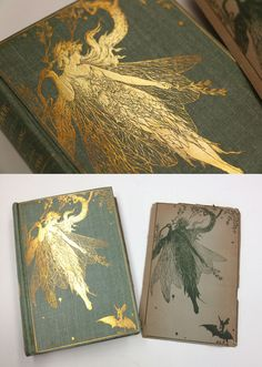 The Olive Fairy Book (1st Edition, 1907) // by Andrew Lang & Illustrated by Henry Justice Ford