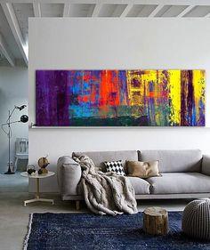 Gama de tonos vivosAN HOUR [CP-SDKNVUWR] - $296.10 | United Artworks | Original art for interior design, buy original paintings online