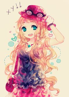 Serena :3 The art is so pretty!!