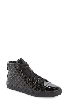 Geox 'New Club' High Top Sneaker (Women) available at #Nordstrom