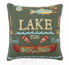 Lake Hook Pillow II