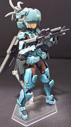 #フレームアームズ・ガール - Twitter検索 Character Concept, Concept Art, Character Design, Anime Figures, Action Figures, Tactical Suit, Robot Animal, Crazy Toys, Frame Arms Girl