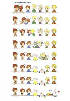 Prussia you kissing maniac!!