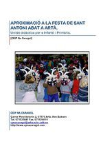 Unitat didàctica Sant Antoni (Artà) Digital Magazine, Author, San Antonio, Books, Ideas, School, Celebrations, Livros, Book