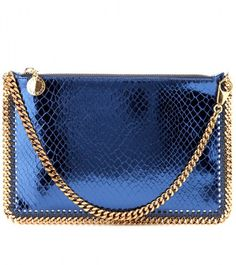 9a823692f5 STELLA MCCARTNEY Blue Falabella Purse - Lyst Louis Vuitton Handbags
