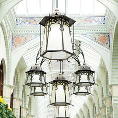 Chandelier.  The Royal Arcade, Norwich #drakes #bowhillandelliott