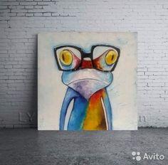 Картина лягушонок