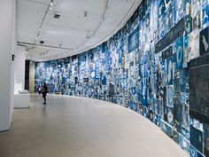 Walead Beshty @ the Barbican Gallery- The Curve - 9 October 2014 - 8 February 2015