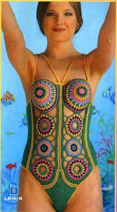crochet swimsuit motif 30 Most Beautiful Crochet Swimsuits