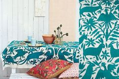 otomi textiles, mexican inspired design, beautiful patterns, and color.