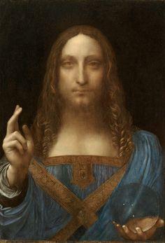 10 lukisan termaha, Salvator Mundi oleh Leonardo Da Vinci